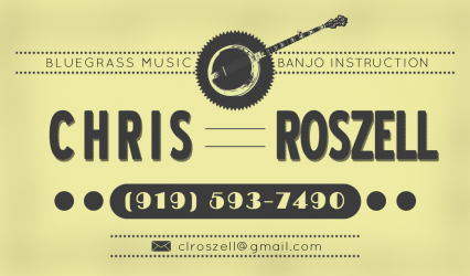 Denver Banjo Lessons with Chris Roszell