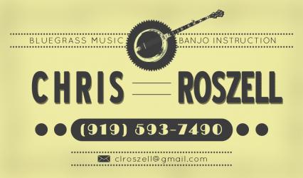 Denver Banjo Lessons with Chris Roszell
